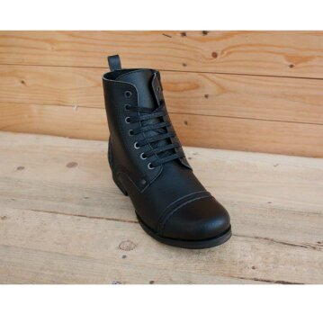 Vegetarian Shoes Vintage Boot Low Zip 37