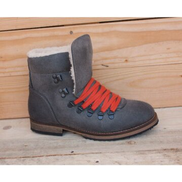 Vegetarian Shoes Caribou Boot grey 38