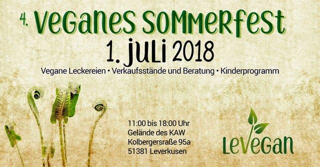 4 veganes Sommerfest in Leverkusen