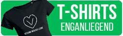 Vegane T-Shirts enggeschnitten