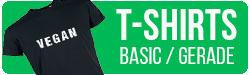 Vegane T-Shirts klassicher Schnitt