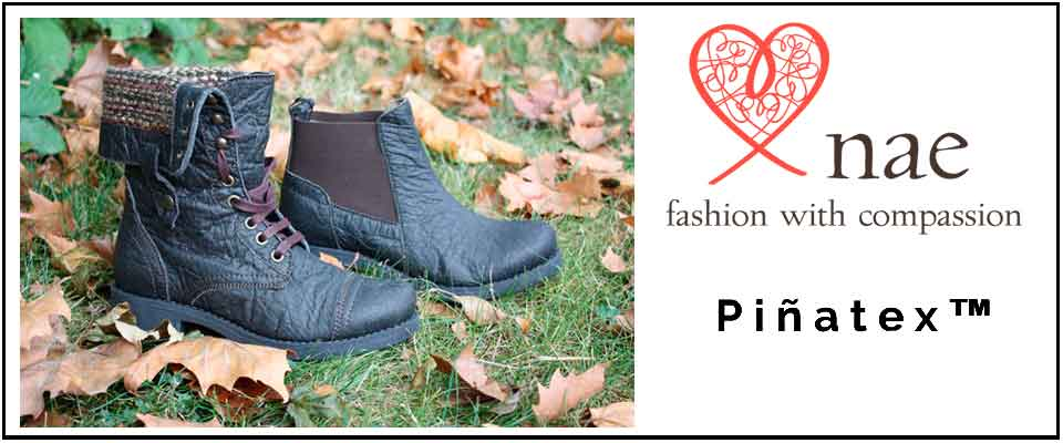 Pinatex Schuhe von NAE