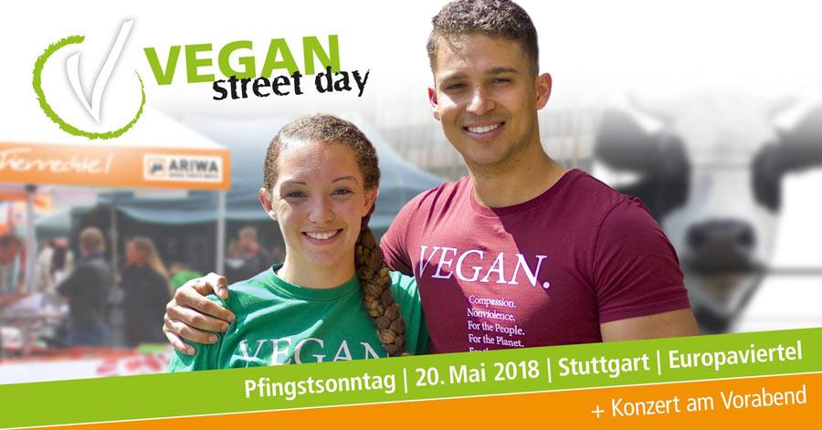 Vegan Street Day Stuttgart 2018